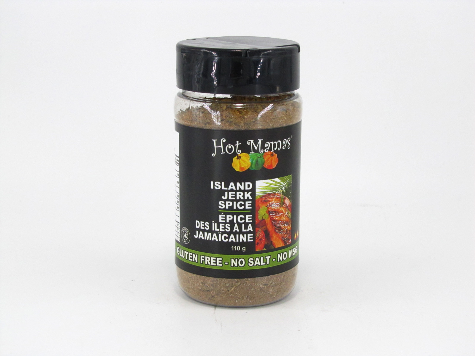 Hot Mamas Spice - Island Jerk - front view
