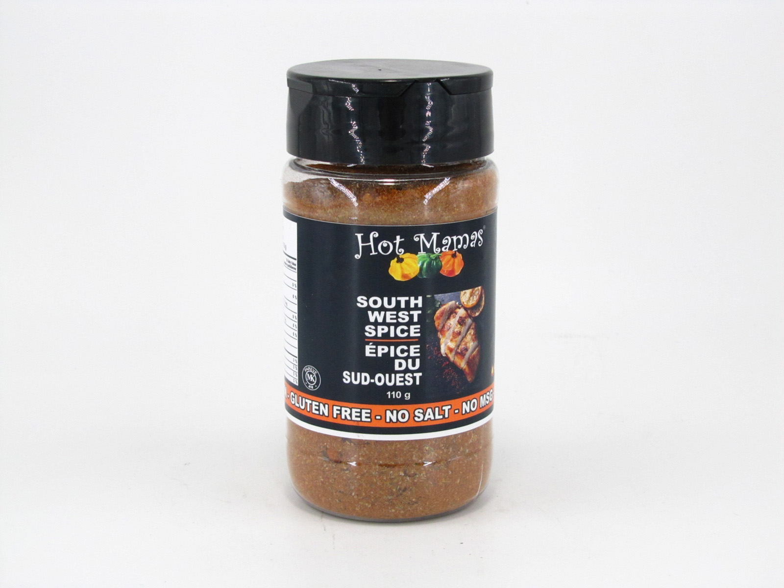 Hot Mamas Spice - South West - front view