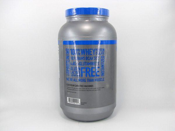 Isopure Whey Protein Shake (3lb)- Creamy Vanilla - side view