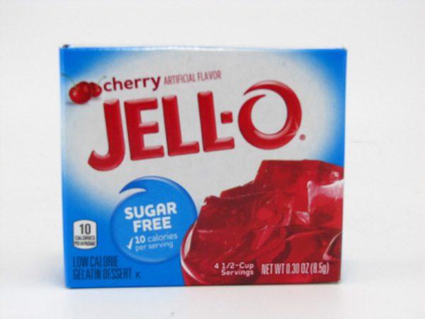 Jello - Cherry - front view