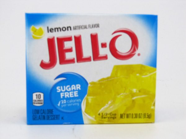 Jello - Lemon - front view
