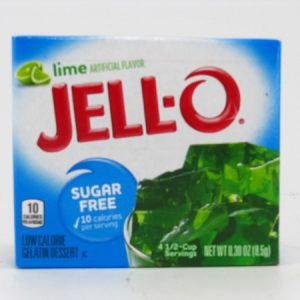 Jello - Lime - front view