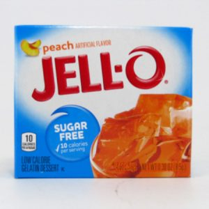 Jello - Peach - front view