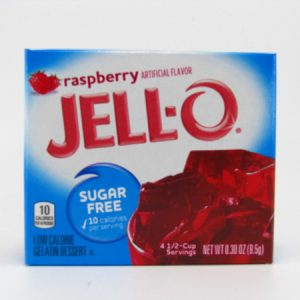 Jello - Raspberry - front view