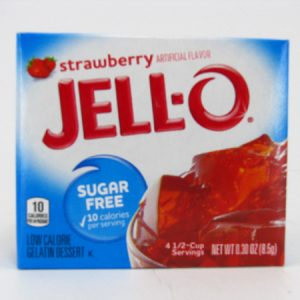 Jello - Strawberry - front view