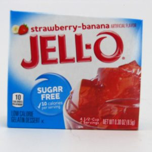 Jello - Strawberry Banana - front view