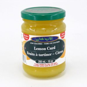 Jok-N-Al Lemon Fruit Spread - front view