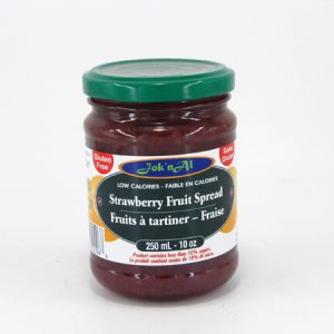 Jok-N-Al Strawberry Fruit Spread - front view