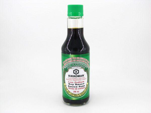 Kikkoman Low Sodium Soy Sauce - front view