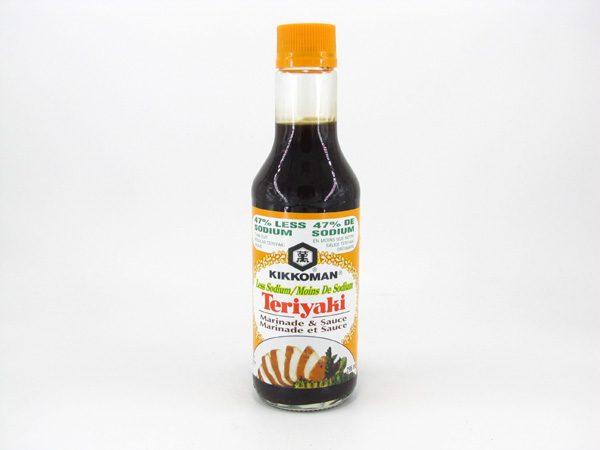 Kikkoman Low Sodium Teriyaki Sauce - front view