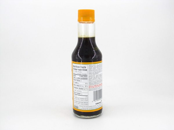 Kikkoman Low Sodium Teriyaki Sauce - back view