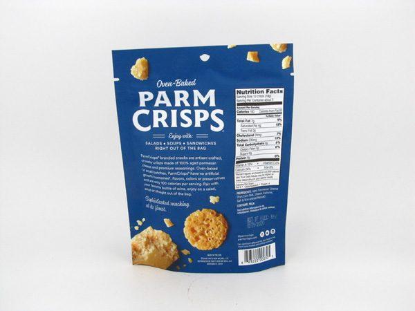 Parm Crisps Mini - Original (50g) - back view