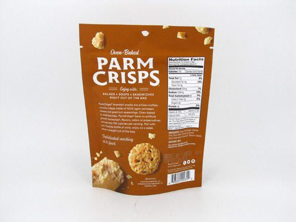 Parm Crisps Mini - Sesame (50g) - back view