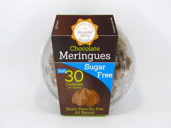 Krunchy Melts Meringues - Chocolate - front view