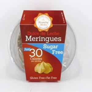 Krunchy Melts Meringues - Dulce de Leche - front view