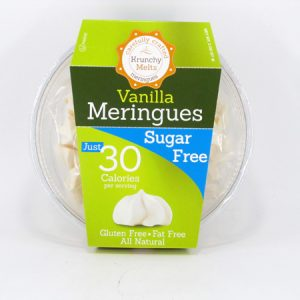 Krunchy Melts Meringues - Vanilla - front view