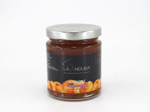 La Nouba Fruit Spread - Apricot - front view
