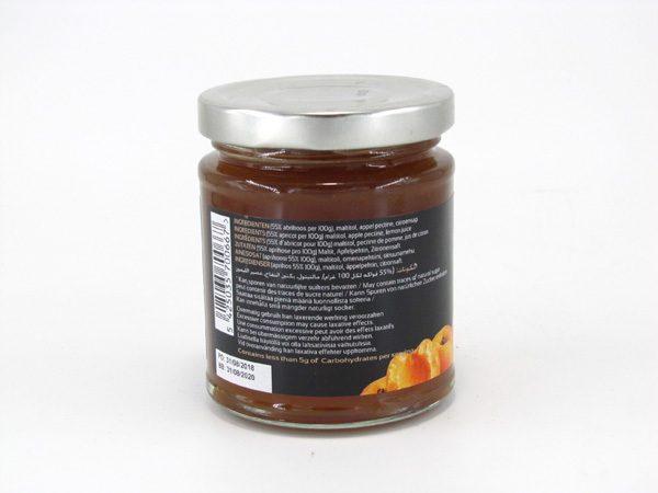 La Nouba Fruit Spread - Apricot - back view