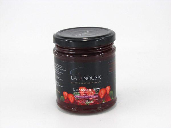 La Nouba Fruit Spread - Strawberry - front view