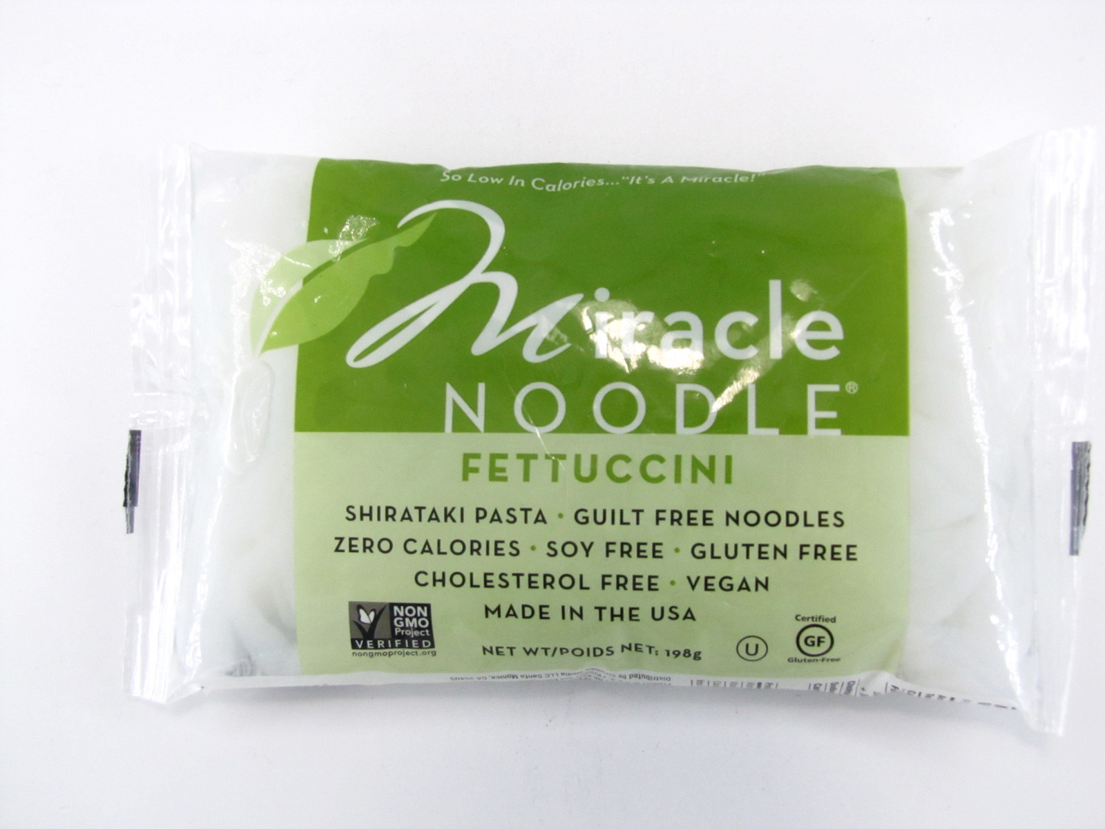 Miracle Noodle - Fettuccini - front view
