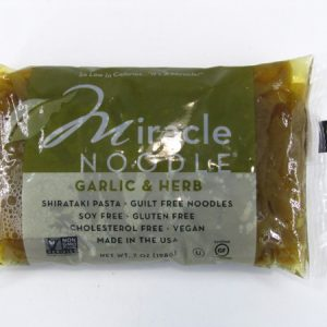 Miracle Noodle - Garlic & Herb - front view