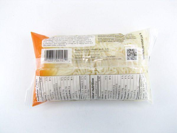 Tofu Shirataki - Spaghetti - back view