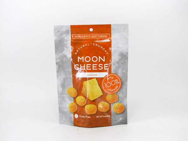 Moon Cheese - Cheddar - front view