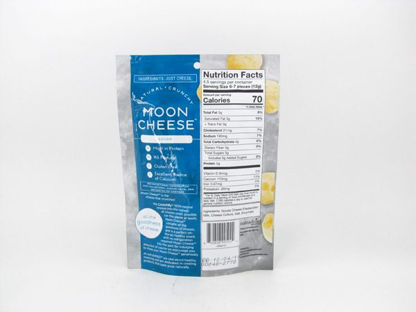 Moon Cheese - Gouda - back view