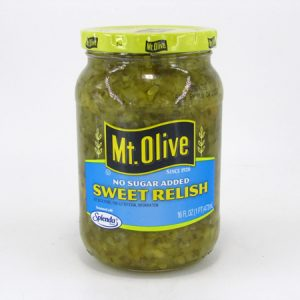 Mt. Olive - Sweet Relish - front view