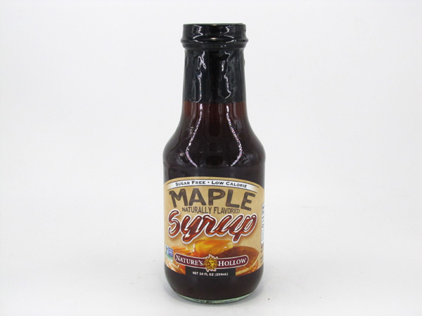 Nature's Hollow Sugar Free - Maple Syrup - front view