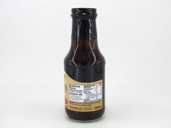 Nature's Hollow Sugar Free - Maple Syrup - back view