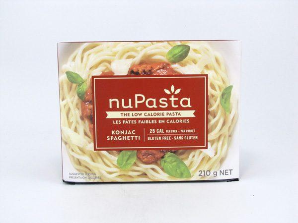 nuPasta - Spaghetti - front view