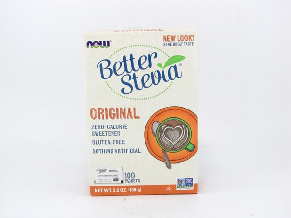 Now Better Stevia Original - front view