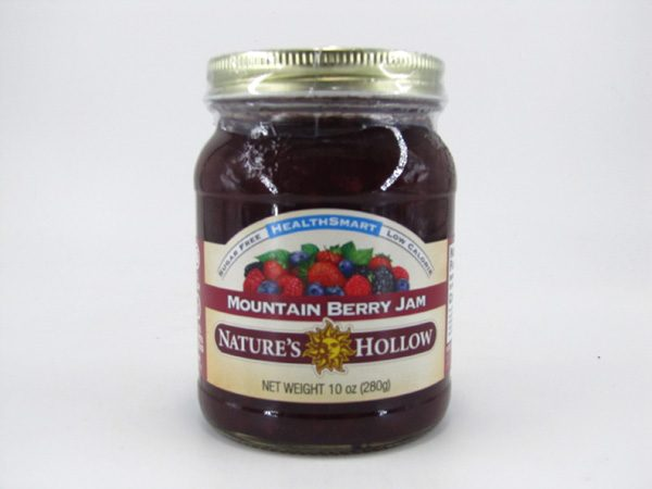 Nature's Hollow Jam - Mountain Berry - front view