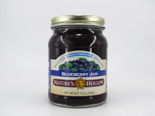 Nature's Hollow Jam - Blueberry - front view