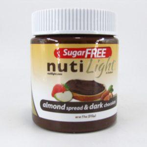 Nuti light - Almond Spread & Dark Chocolate - front view