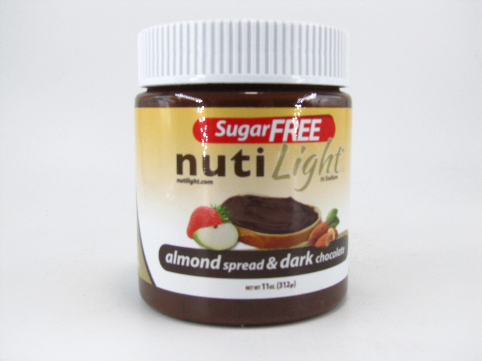 Nuti light - Almond Spread & Dark Chocolate - front view