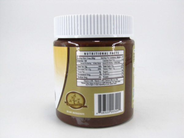 Nuti light - Almond Spread & Dark Chocolate - back view