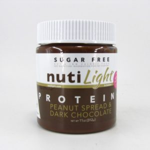Nuti light Protein Plus - Peanut Spread & Dark Chocolate - front view