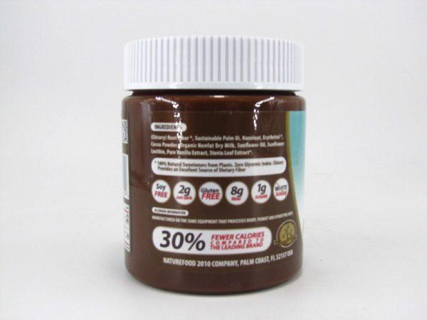 Nuti light - Hazelnut Spread & Milk Chocolate - side view
