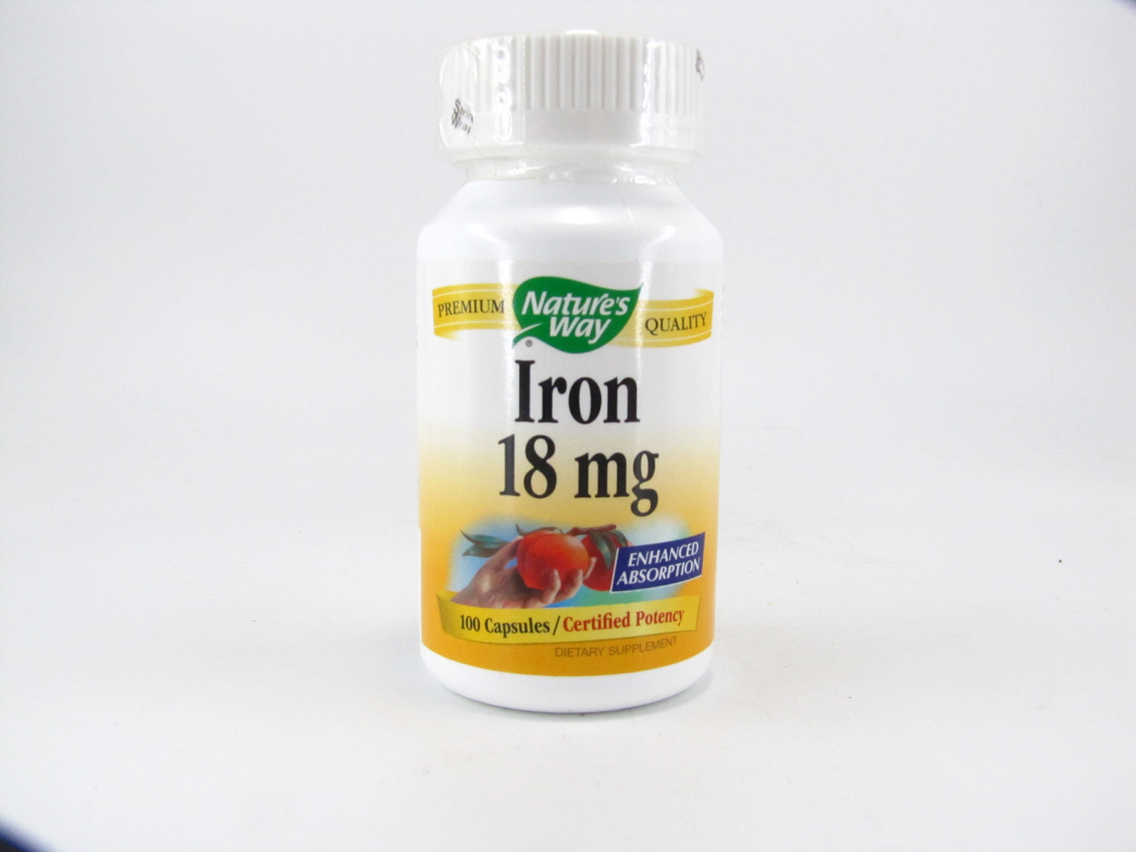 Nature's Way Iron 18 mg - front view