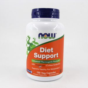 Now - Diet Support 120 veg Capsules - front view