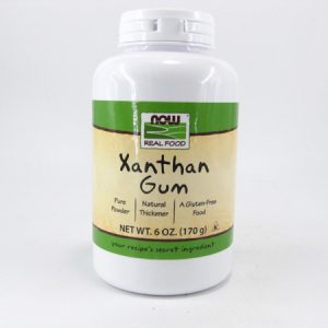 Xanthan Gum - front view