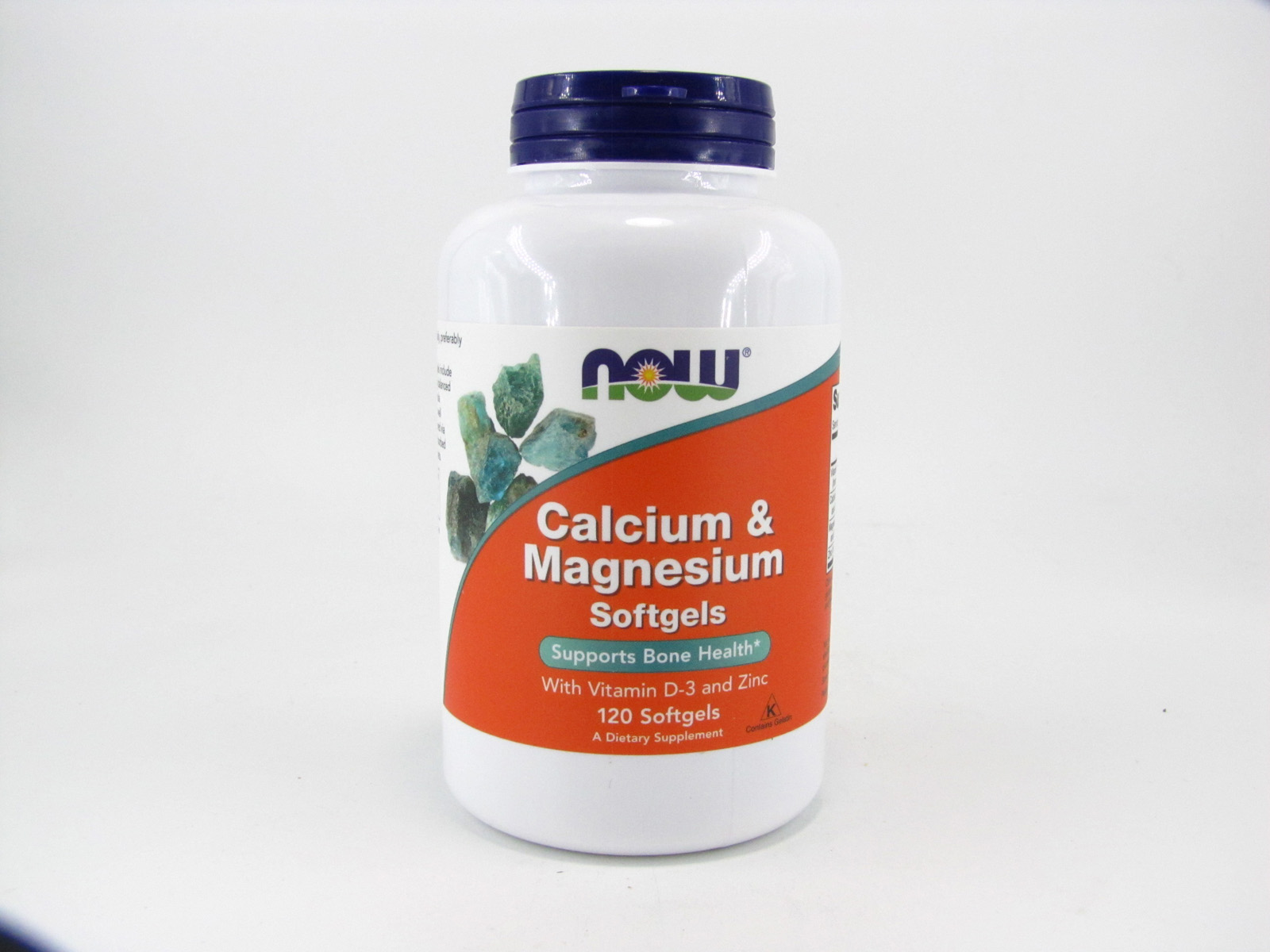 Calcium & Magnesium Softgels - front view