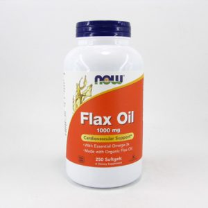 Now - Flax Oil - front view