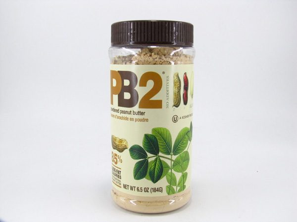 PB2 Powdered Peanut Butter - front view