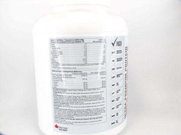Diesel Protein Shake ( 5lb ) - Milk Chocolate - back view