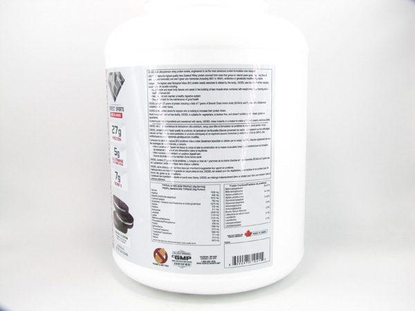 Diesel Protein Shake ( 5lb ) - Cookies & Cream - back view