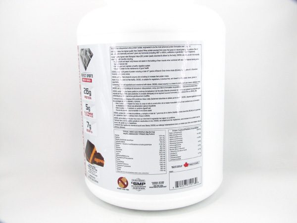 Diesel Protein Shake ( 5lb ) - Chocolate Peanut Butter - side view