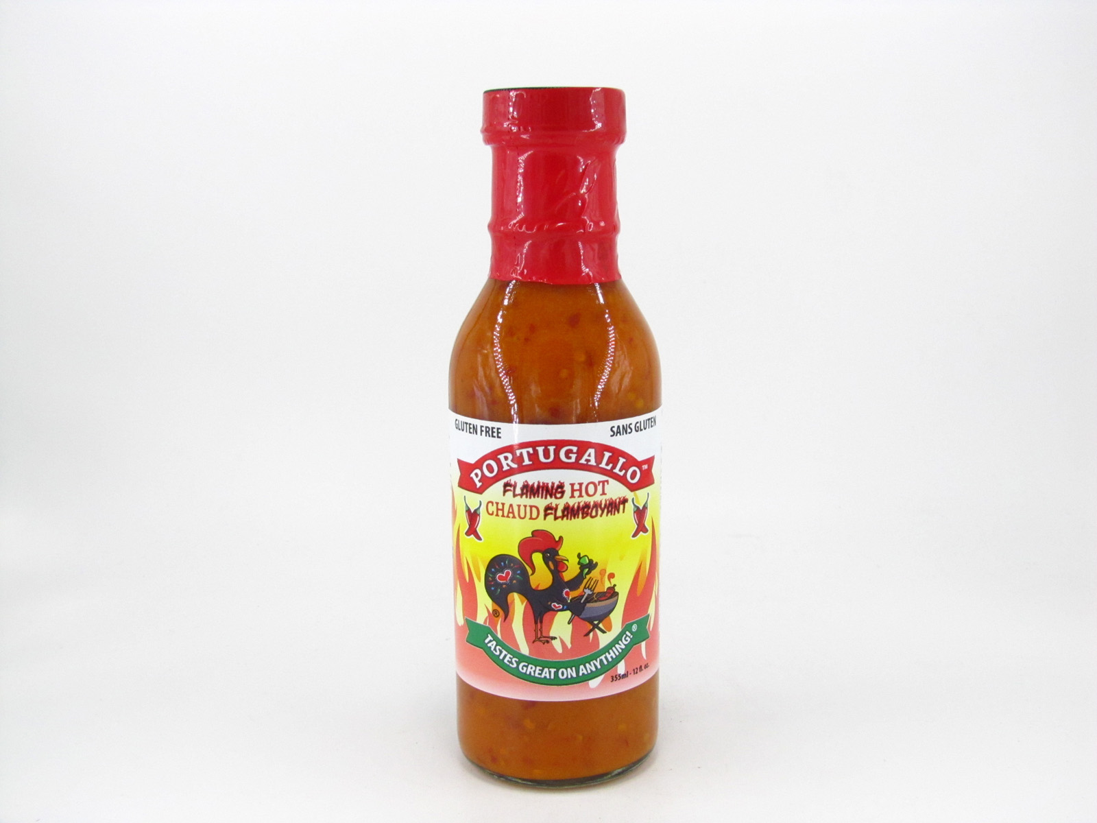 Portugallo Sauce - Flaming Hot - front view